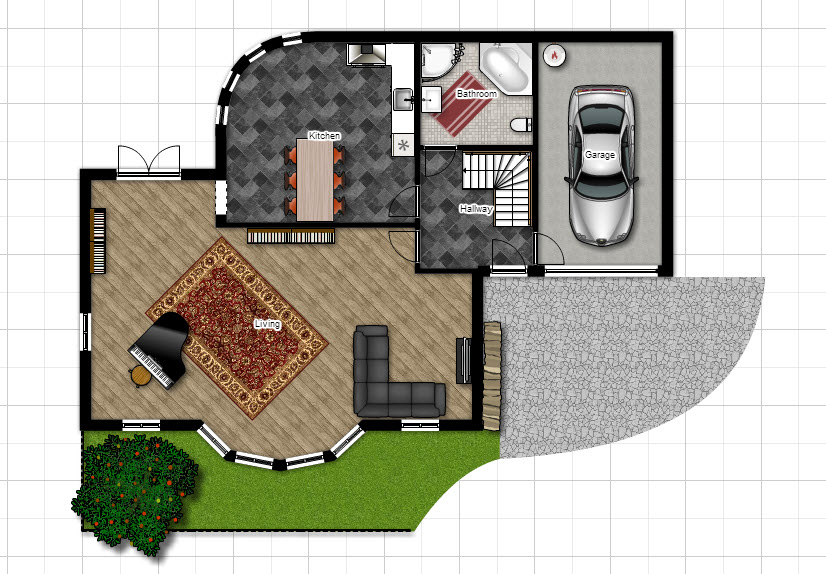 Floorplanner simple online tool to draw domoticz house for Www floorplanner