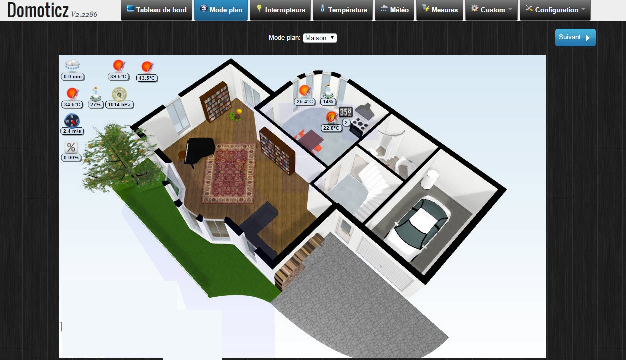 Floorplanner Simple Online Tool To Draw Domoticz House